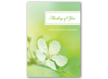 Apple Blossom Sympathy Cards